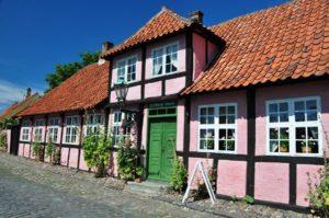 Erichsens Gaard in Bornholm, Dänemark